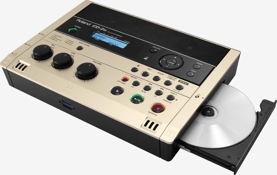 CD-2u: SD/CD Recorder